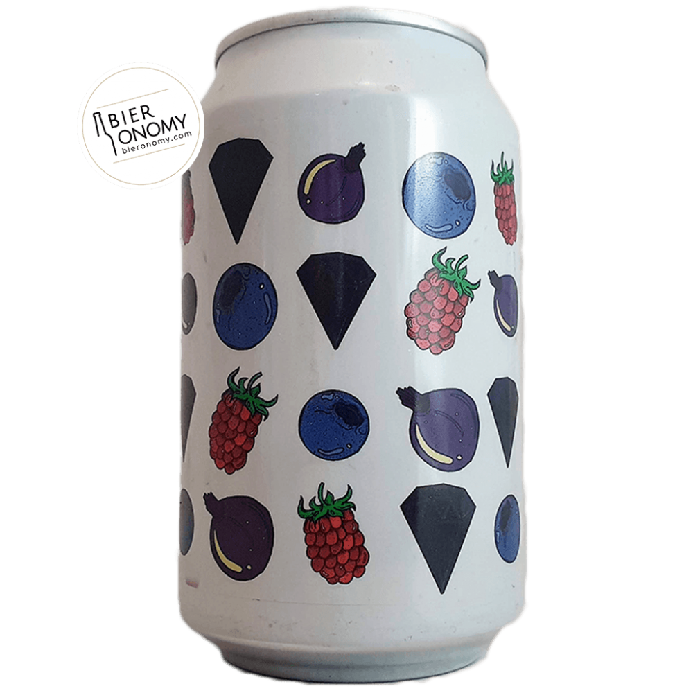 Bière BerryLicorice Fruited Gose 33 cl Brasserie Fermenterarna