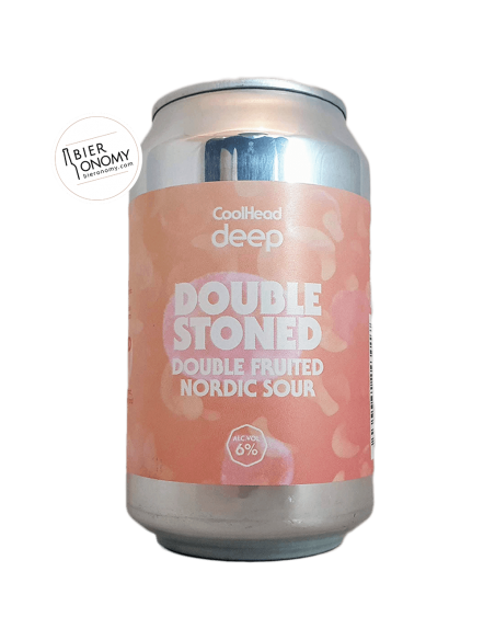 Bière Deep Double Stoned Nordic Sour 33 cl Brasserie CoolHead Brewery