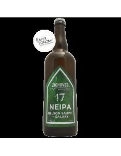 Bière NEIPA 17 Nelson Sauvin + Galaxy 75 cl Brasserie Zichovec