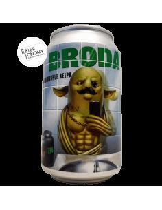 Bière Broda Quadruple NEIPA 33 cl Brasserie Lobik Brewery