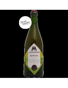 Bière Gentiane 75 cl Micro Brasserie La Montagnarde
