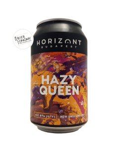 Bière Hazy Queen NEIPA 33 cl Brasserie Horizont Budapest Brewery