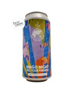 Bière Bingo Night Tell Your Friends Pale Ale 44 cl Brasserie Lost And Grounded Brewers