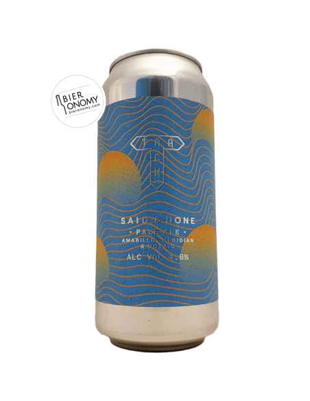 Bière Said & Done New England Pale Ale 44 cl Brasserie Track Brewing