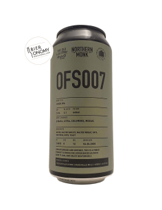 Bière OFS007 IPA 44 cl Northern Monk Brew Co