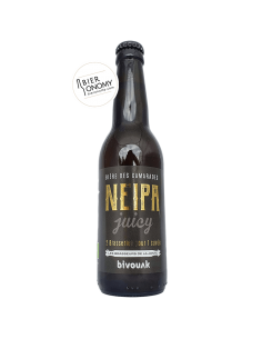 Bière NEIPA 33 cl Bivouak Brasserie des Tilleuls Brasseurs de la Jonte