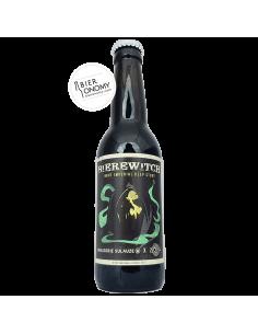Bière Bierewitch Brut Imperial Deep Stout 33 cl Sulauze Brasserie Animale ZooBrew