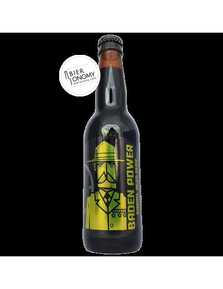 Bière Baden Power Imperial Stout Bourbon Barrel Aged 33 cl Brasserie O'Clock Brewing