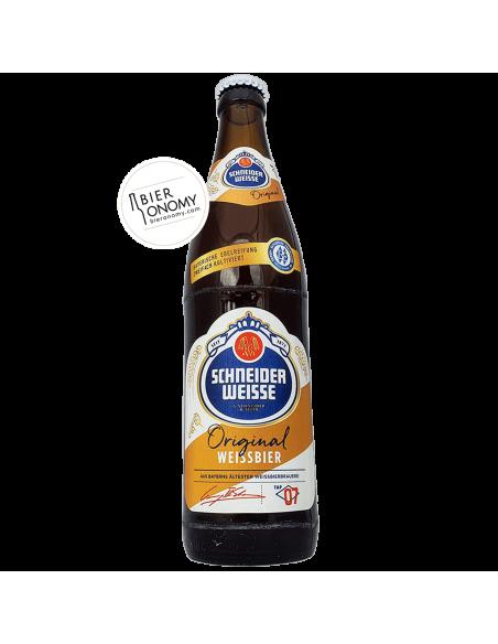 Bière Original (TAP07) Weissbier 50 cl Brasserie Schneider Weisse