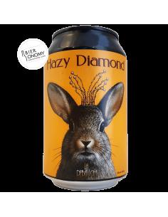 Bière Hazy Diamond Sour Fruits de la Passion 33 cl Brasserie La Débauche