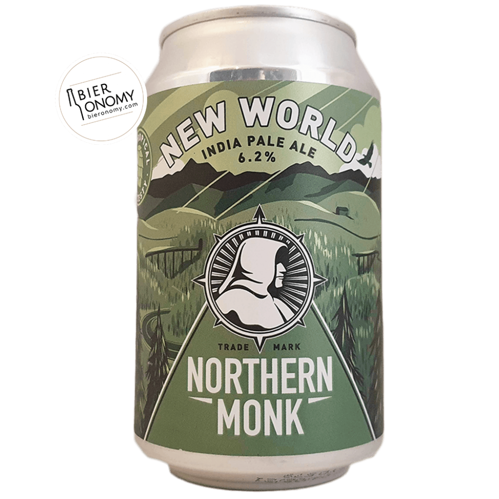 Bière New World IPA 33 cl Brasserie Northern Monk Brew Co