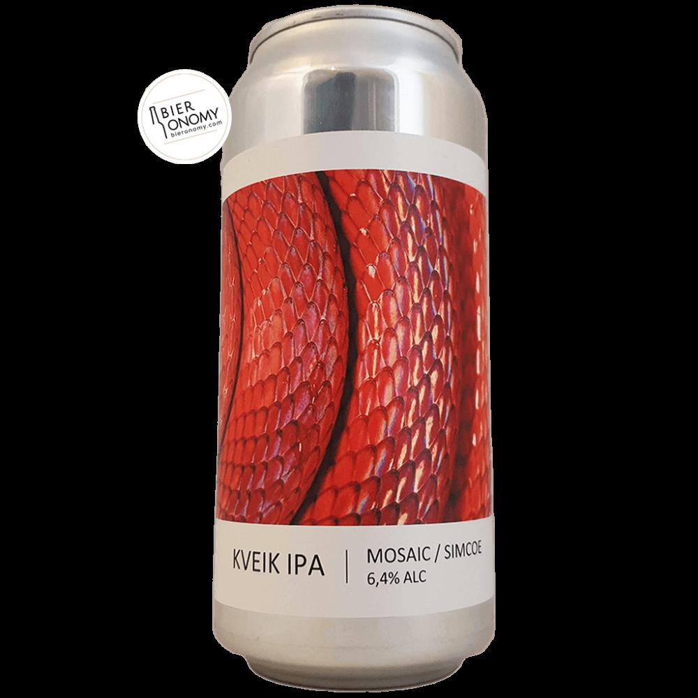 Bière Kveik IPA Mosaic Simcoe 44 cl Brasserie Popihn