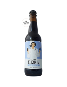 Bière IBU Profane IBA India Black Ale 33 cl Brasserie Elixkir
