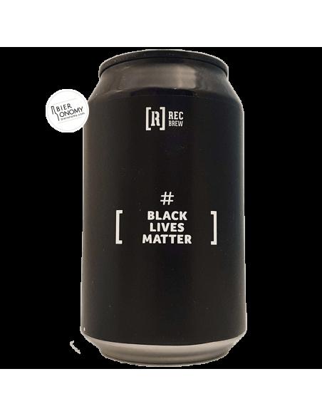Bière #BlackLivesMatter West Coast IPA 33 cl Brasserie Rec Brew