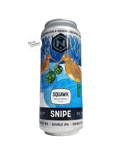 Bière Snipe Double IPA 50 cl Brasserie Nepomucen SQUAWK