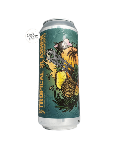Bière Tropical Slasher Imperial Sour Ale 50 cl Brasserie Selfmade