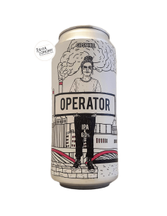 Bière Operator NEIPA 44 cl Brasserie Gipsy Hill
