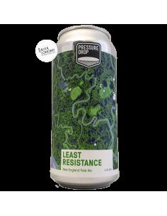 Bière Least Resistance New England Pale Ale 44 cl Brasserie Pressure Drop