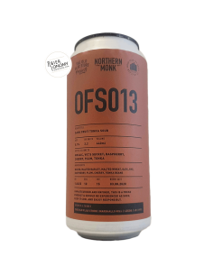 Bière OFS013 Dark Fruit Tonka Sour 44 cl Brasserie Northern Monk
