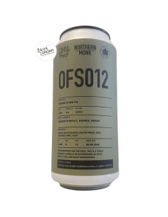Bière OFS012 Incognito DDH IPA 44 cl Brasserie Northern Monk