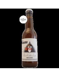 Bière Antisèche Blanche 33 cl Brasserie Faucigny