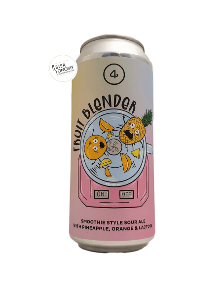 Bière Fruit Blender Smoothie Sour Ale 47,3 cl 4 Noses Brewing
