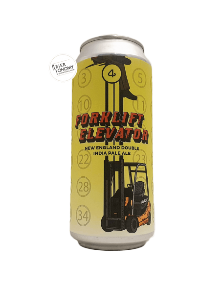 Bière Forklift Elevator Double NEIPA 47,3 cl 4 Noses Brewing