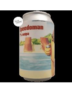 Bière Speedoman NEIPA 33 cl Brasserie Lobik