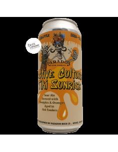 Bière Active Culture Tiki Sunrise Sour Ale Aged 47,3 cl Brasserie Paradox