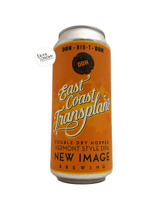 Bière DDH East Coast Transplant Bio T 47,3 cl Brasserie New Image