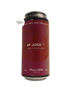 Bière Of Juice Nº5 DIPA 44 cl Brasserie Three Hills Brewery