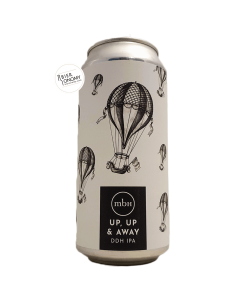 Bière Up, Up & Away DDH IPA 44 cl Brasserie MBH Mobberley Brewhouse