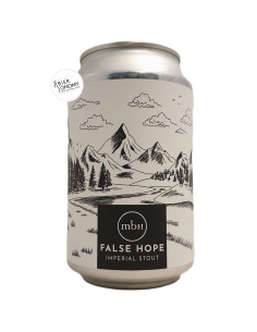 Bière False Hope Imperial Stout 33 cl Brasserie MBH Mobberley Brewhouse