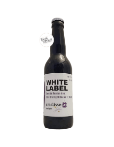 Bière White Label Imperial Russian Stout Islay Whisky BA Peated 2018 33 cl Brasserie Emelisse