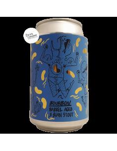 Bière 3 Bean Stout Bourbon Barrel Aged (2020) Imperial Stout 33 cl Brasserie Lervig