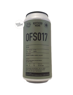 Bière OFS017 New England DDH IPA 44 cl Brasserie Northern Monk Brew Co