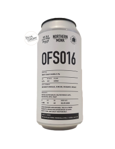 Bière OFS016 West Coast Double IPA 44 cl Brasserie Northern Monk Brew Co