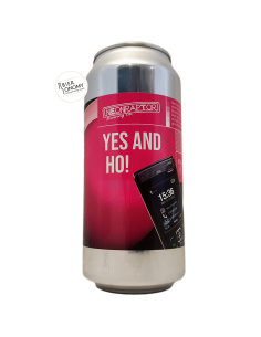 Bière Yes And Ho! New England IPA 44 cl Brasserie Neon Raptor Brewing Company