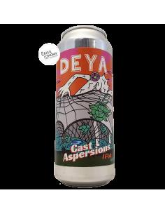Bière Cast Aspersions New England IPA 50 cl Brasserie DEYA Brewing