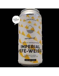 Bière Heftyweisse Imperial Hefe-Weisse 44 cl Brasserie Cloudwater Brew Co