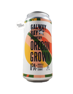 Bière Oregon Grown Amarillo Azacca Summit IPA 44 cl Brasserie Galway Bay