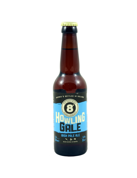 Howling Gale Irish Pale Ale - 33 cl - Eight Degrees