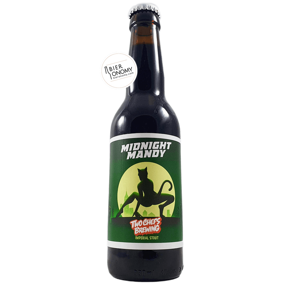Bière Midnight Mandy Imperial Stout 33 cl Brasserie Two Chefs