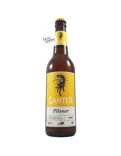 Bière Pilsner 50 cl Brasserie Ganter