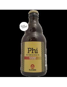 Bière Phi Rabarber Rhubarb Fruit Sour Ale 33 cl Brasserie Alvinne