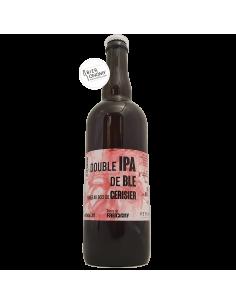 Bière Double IPA de Blé fumée au bois de cerisier 75 cl Brasserie Faucigny