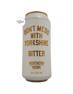 Bière Don't Mess With Yorkshire Bitter 44 cl Brasserie Northern Monk