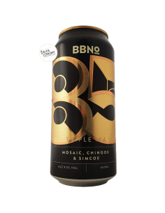 Bière 85 Triple IPA Mosaic, Chinook & Simcoe 44 cl Brasserie Brew By Numbers