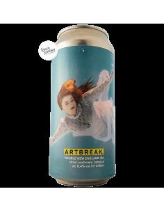 Bière ARTBREAK Double New England IPA 44 cl Brasserie Atelier der Braukünste