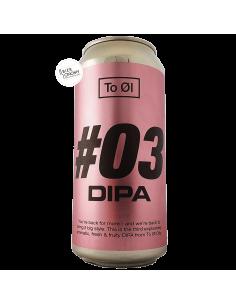 Bière 03 DIPA 44 cl Brasserie To Øl